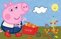 Peppa-Wutz-Gartenarbeit-mit-Peppa-und-George-Peppa-Pig-Wutz-Cartoons-fr-Kinder-1