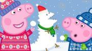 Peppa-Wutz-Frohe-Weihnachten-Schnee-Peppa-Pig-Deutsch-Neue-Folgen-Cartoons-fr-Kinder-1