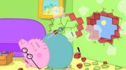 Peppa-Wutz-Papa-hngt-ein-Bild-auf-Peppa-Pig-Deutsch-Neue-Folgen-Cartoons-fr-Kinder-1