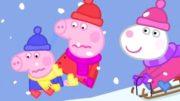 Peppa-Wutz-Schlittenfahrt-Peppa-Pig-Deutsch-Neue-Folgen-Cartoons-fr-Kinder-1